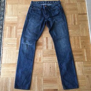 Men's Earnest Sewn Blue Jeans